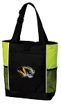 University of Missouri Tote Bag COOL LIME
