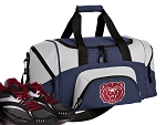 SMALL Missouri State University Gym Bag Missouri State Bears Duffle Navy