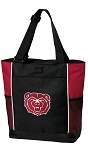 Missouri State Bears Tote Bag Red