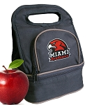 Miami University Redhawks Lunch Bag Black