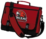 Miami University Messenger Bag Red