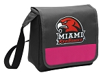 Miami University Redhawks Lunch Bag Cooler Pink