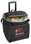 Miami University Redhawks Rolling Cooler Bag
