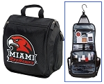 Miami University Toiletry Bag or Miami RedHawks Shaving Kit Travel Organizer for Men