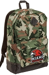 Miami Redhawks Camo Backpack