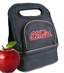 University of Mississippi Lunch Bag Black