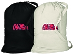 Ole Miss Laundry Bags 2 Pc Set
