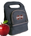 Mississippi Stat Lunch Bag Black
