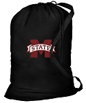 Mississippi State Laundry Bag Black
