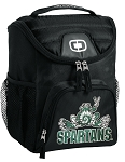 Michigan State Peace Frog Insulated Lunch Box Cooler Bag