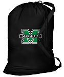 Marshall University Laundry Bag Black