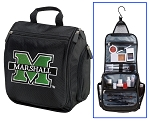 Marshall University Toiletry Bag or Marshall Shaving Kit Travel Organizer for Men