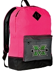 Marshall Backpack HI VISIBILITY Marshall University CLASSIC STYLE For Her Girls Women