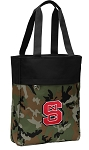 NC State Tote Bag Everyday Carryall Camo