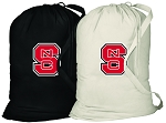 NC State Laundry Bags 2 Pc Set