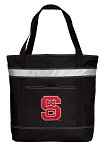 NC State Insulated Tote Bag Black