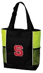 NC State Tote Bag COOL LIME