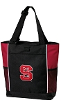 NC State Tote Bag Red