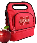 Nebraska Lunch Bag Red