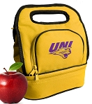 Northern Iowa Lunch Bag Gold