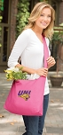 Northern Iowa Tote Bag Sling Style Pink