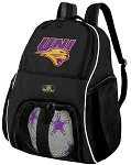 University of Northern Iowa Soccer Backpack or UNI Panthers Volleyball Bag For Boys or Girls