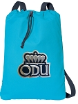 Old Dominion Cotton Drawstring Bag Backpacks Blue
