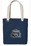 ODU Tote Bag RICH COTTON CANVAS Navy