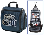 ODU Hanging Travel Toiletry Bag or Old Dominion University Shaving Kit Organizer for Him Navy