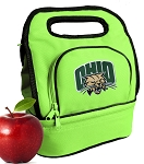 Ohio Bobcats Lunch Bag Green