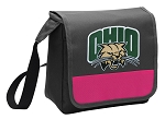 Ohio Bobcats Lunch Bag Cooler Pink