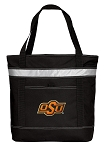 Oklahoma State Insulated Tote Bag Black