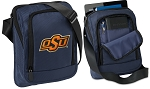 Oklahoma State Tablet or Ipad Shoulder Bag Navy