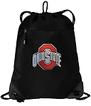OSU Ohio State Drawstring Backpack-MESH & MICROFIBER