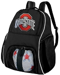 Ohio State University Soccer Backpack or OSU Buckeyes Volleyball Bag For Boys or Girls