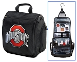 Ohio State University Toiletry Bag or OSU Buckeyes Shaving Kit Travel Organizer for Men