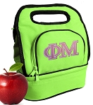 Phi Mu Lunch Bag Green