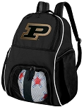 Purdue University Soccer Backpack or Purdue Volleyball Bag For Boys or Girls
