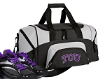 Small Texas Christian University Gym Bag or Small TCU Duffel