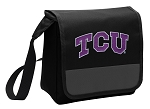 TCU Texas Christian Lunch Bag Cooler Black
