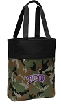 TCU Tote Bag Everyday Carryall Camo