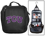 Texas Christian University Toiletry Bag or TCU Shaving Kit Travel Organizer for Men