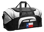 Texas Duffel Bags or Texas Flag Gym Bags
