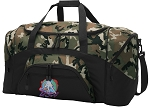 Field Hockey Camo Duffel Bags