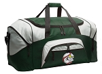 Large Baseball Duffle Bag Green