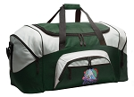 Large Field Hockey Duffle Bag Green
