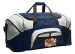 Large Maryland Flag Duffle Maryland Duffel Bags