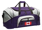 LARGE Canada Flag Duffle Bags & Gym Bags