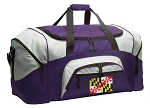 LARGE Maryland Flag Duffle Bags & Gym Bags