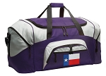 LARGE Texas Duffle Bags & Gym Bags